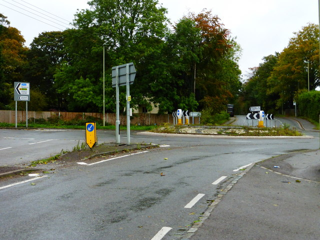 Roundabout at Rowstock