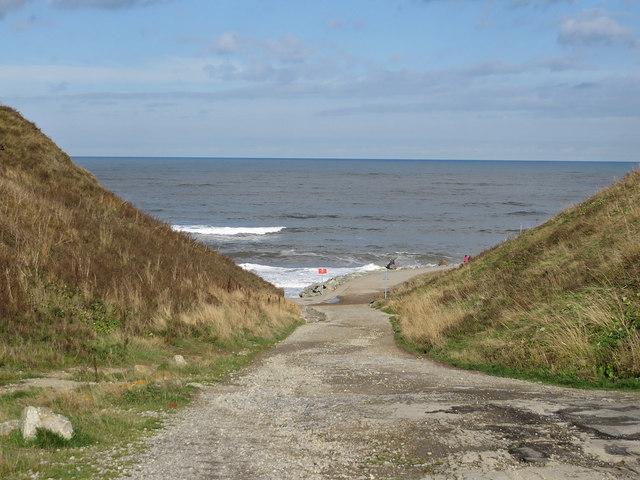 Path to Upgang Beach