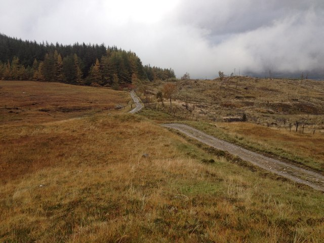 The Lairig track