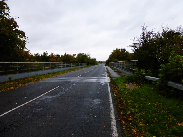 Looking west on the A417