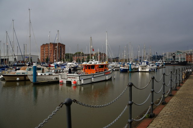 Boats in the Hull Marina