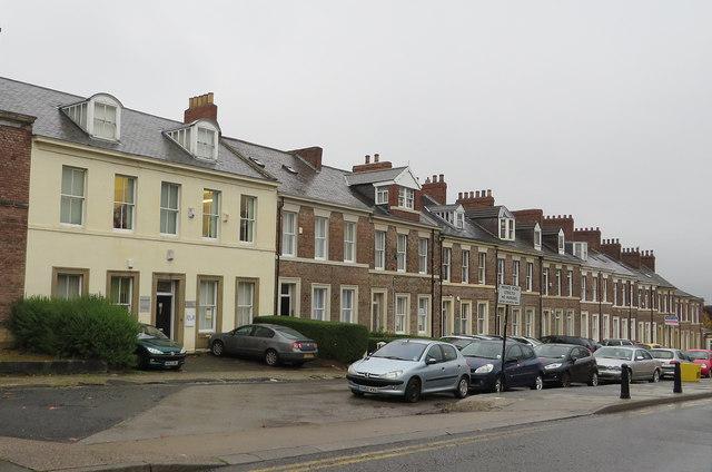 Regent Terrace, Gateshead