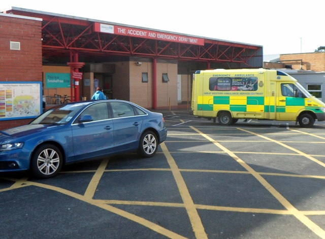 A&E, Frenchay Hospital, Bristol