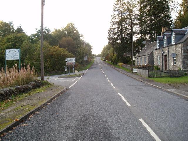 Small village of Calvine