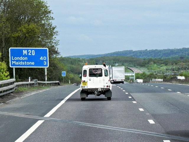 Northbound M40, Kent