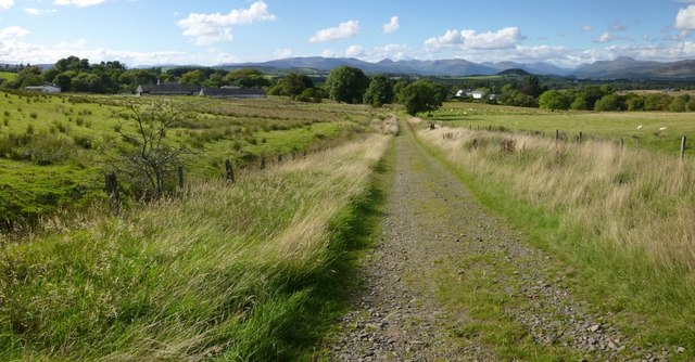 Track to Wester Cameron