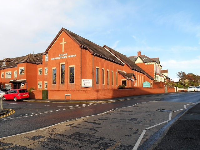 Victoria Congregational Church, Newton Drive, Blackpool