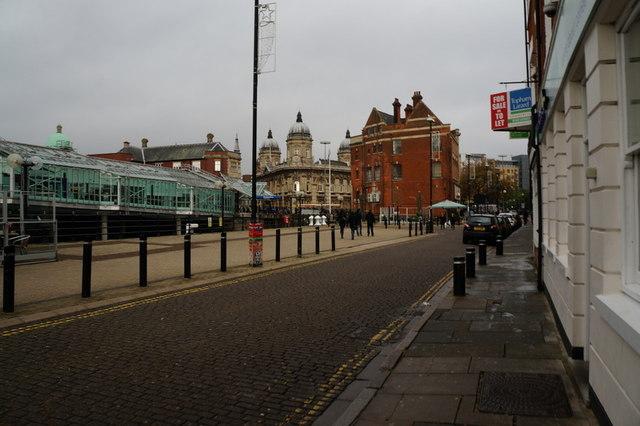 Princes Dock Street, Hull