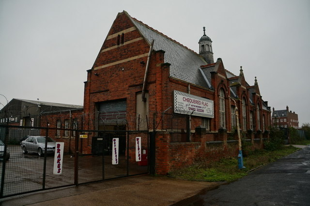 Former school on Churchill Street, Hull
