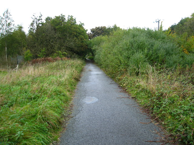 Footpath on Moss Lane