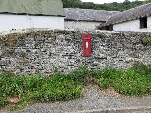 Postbox at Church house