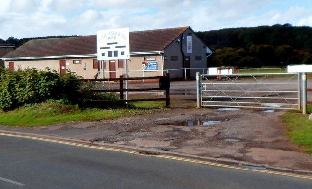 Frenchay Park Road football ground, Frenchay