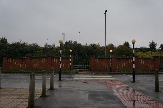 A zebra crossing on Hedon Road, Hull