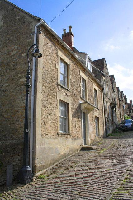 View up Gentle Street