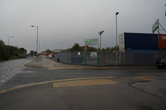 Hedon Road at Woodhouse Street, Hull