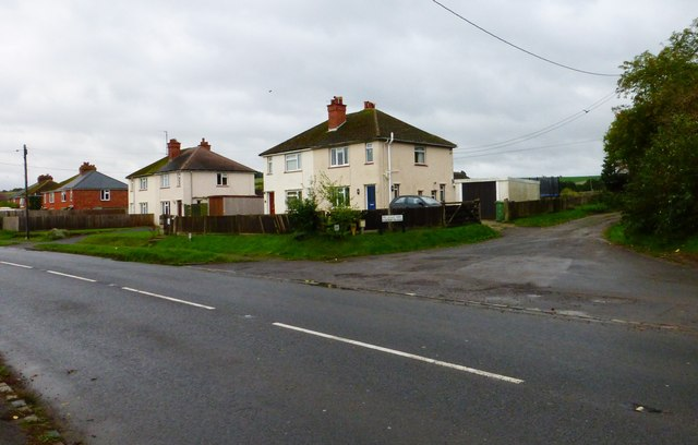 Junction of London Road and Pilgrims Way in Blewbury