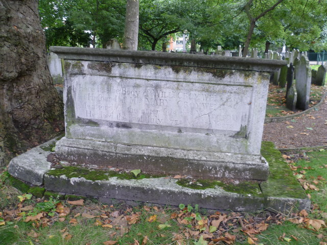 Grave of William Cromwell