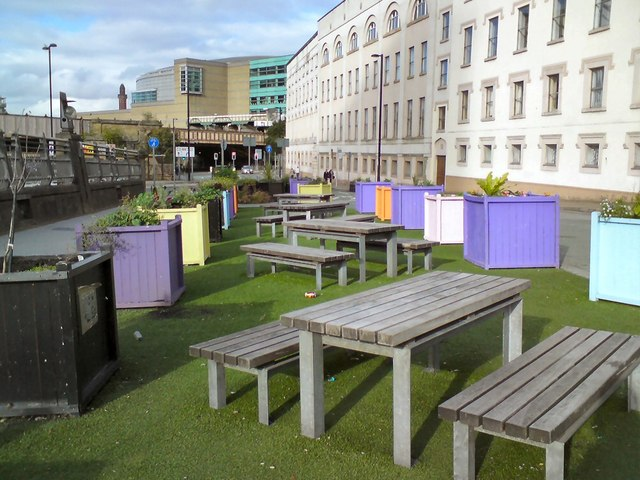 Picnic Area on former end of Deansgate