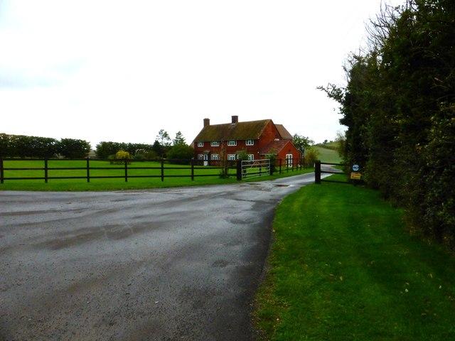 Sheephouse Farm on the A417
