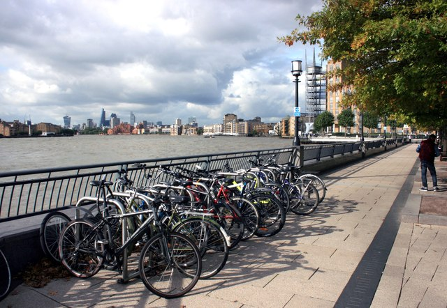 Bikes on the Waterfront