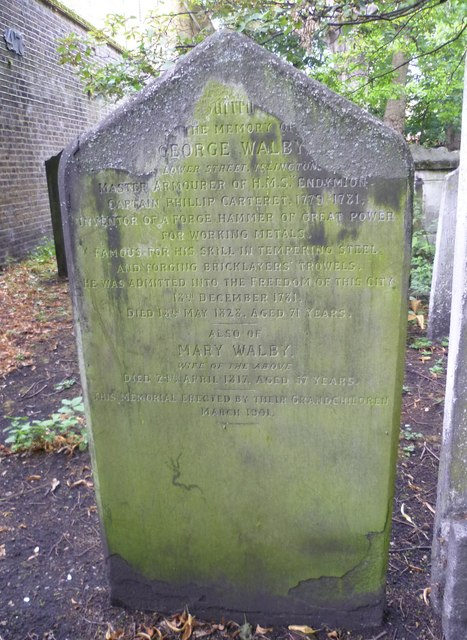 Grave of George Walby