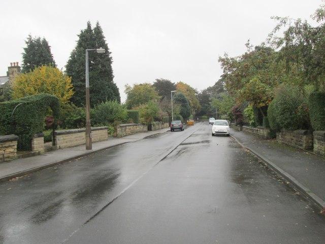 Davies Avenue - looking towards Old Park Road