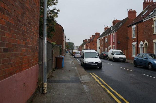 Franklin Street off Holderness Road, Hull