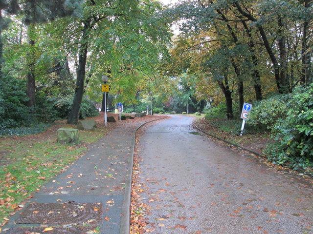 Driveway to Spire Hospital - Jackson Avenue