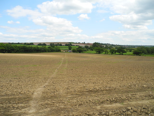 Arable land north of Shire Carr Farm