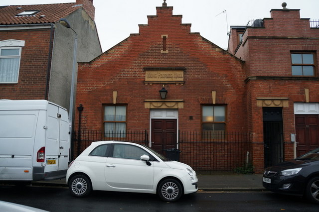 The Young Peoples Hall on Franklin Street, Hull