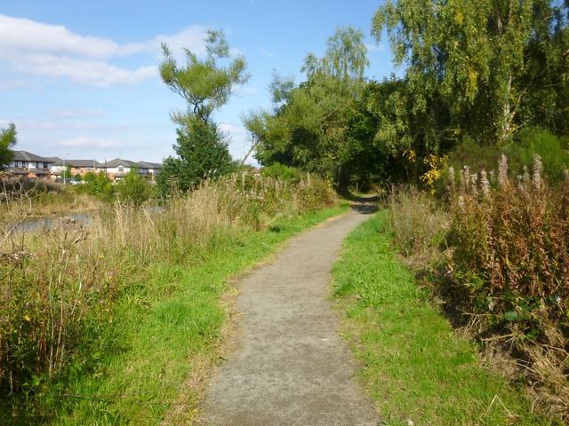 Path around industrial estate