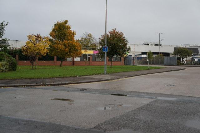 The transport entrance to Reckitt Benckiser