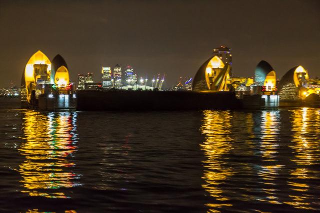 Thames Barrier, London