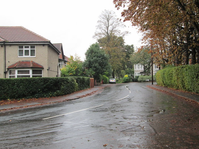 Lidgett Walk - viewed from Thorn Lane