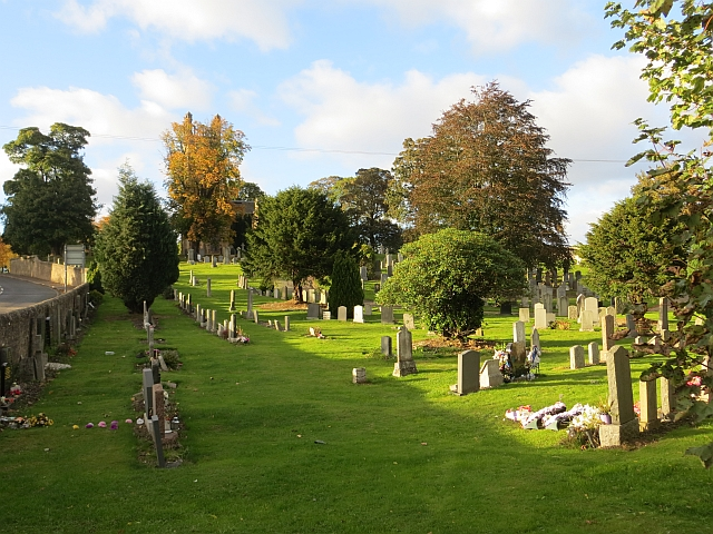 Churchyard, Carrington Parish Church