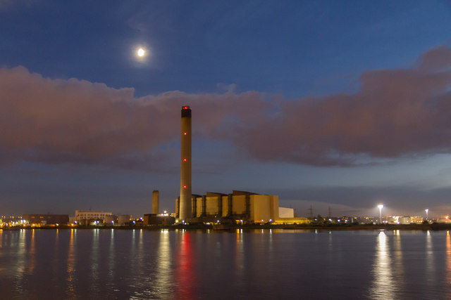 Littlebrook Power Station, London