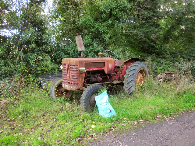 Old tractor, Woodgate Cottages