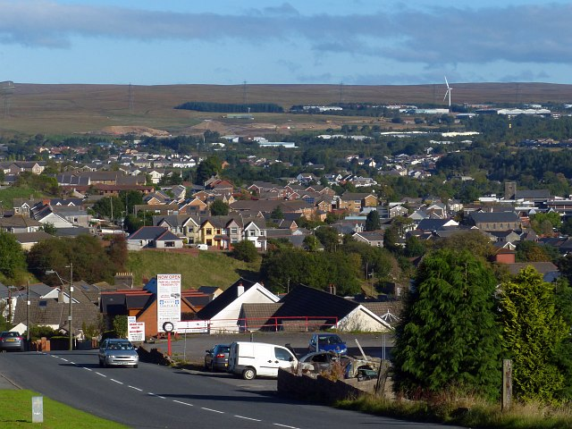 View over Tredegar (2013)