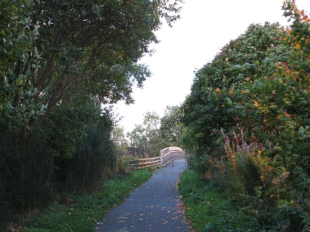 Penicuik cycle path