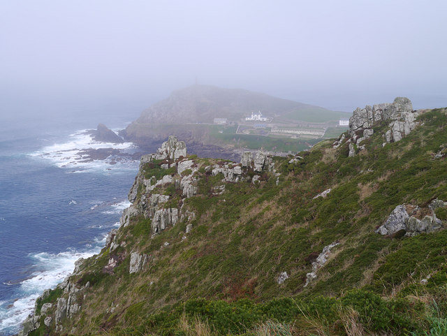 Misty Cape Cornwall