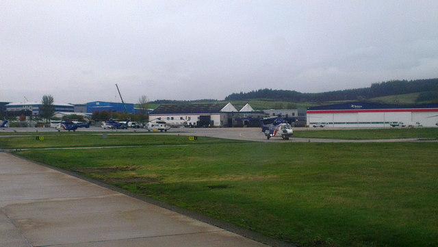 Heliport at Aberdeen Airport