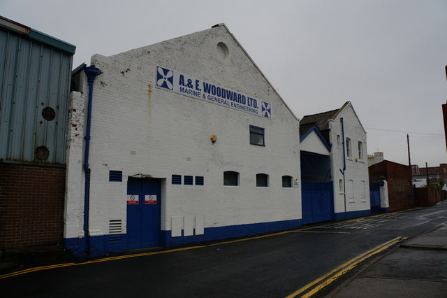 A&E Woodward Ltd on Lime Street, Hull