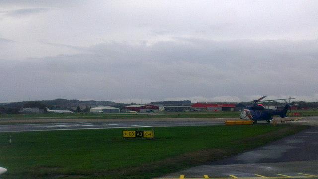 East Terminal, Aberdeen Airport