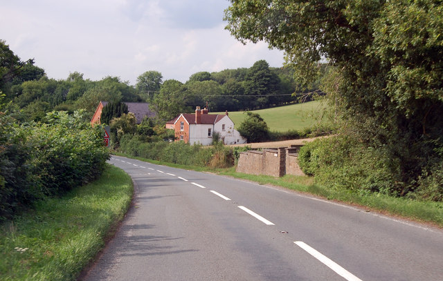 B4224 towards Fownhope