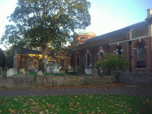 St Ann's Church on Kew Green