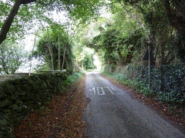 Ascending Bar Hill, Carsluith