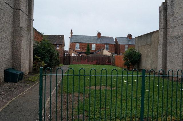 A small play area off Steynburg Street, Hull