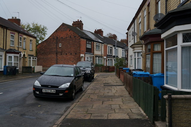 Dene Street off New Bridge Road, Hull