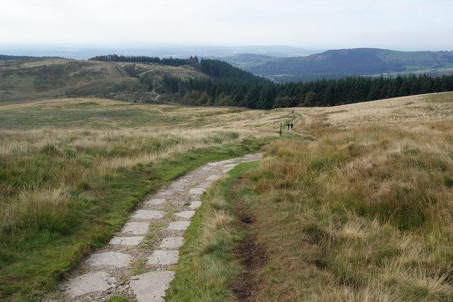 Descent towards Macclesfield Forest