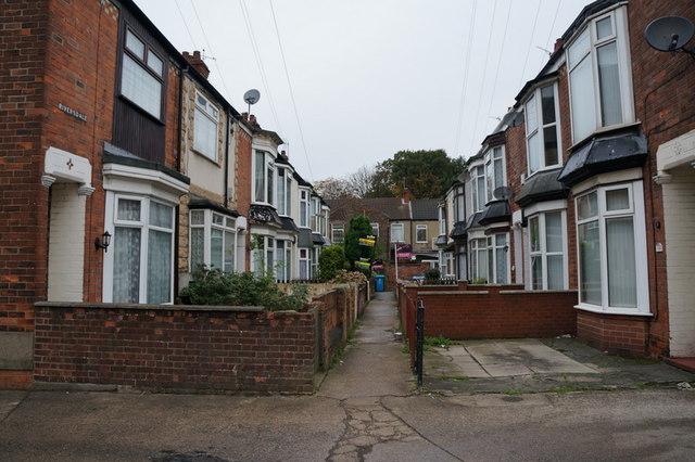 Riversdale off Dene Street, Hull